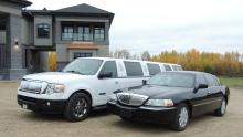 Black & White Luxury Rides Available for You from Sherwood Park Limo